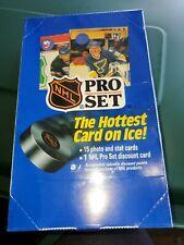 1990 Pro Set NHL Hockey Series 1 Unopened Wax Box