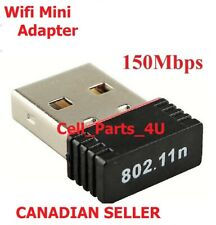 USB WiFi Wireless Adapter Mini Network Dongle 150Mbps Windows MAC Linux 802.11n