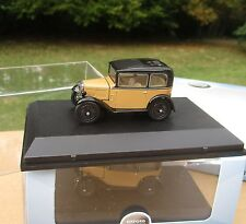 OXFORD 1/43 Mythique AUSTIN SEVEN RN SALOON FAWN ASS001 !
