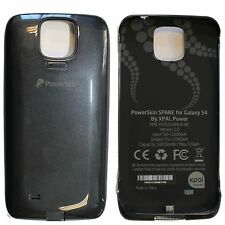 PowerSkin Spare Samsung Galaxy S4 S 4 EXTENDED Battery Charging Case Black