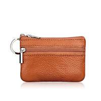 Womens Girls Small Mini Wallet Card Holder Clutch Handbag Coin Purse Zipper Bag