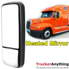 Heated Mirror Assy 05-11 Freightliner Century Left Driver Manual Rear View Black