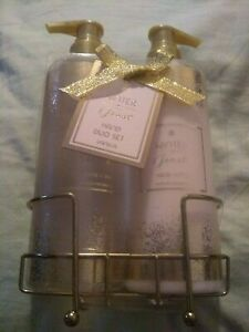 Great Gift Idea - Winter frost Hand Duo Set vanilla Hand Wash & Lotion New