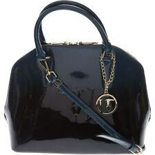 TRUSSARDI Jeans - Linea Ischia Dome - Petrol Blue Designer Handbag