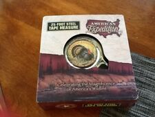 American Expedition WILD TURKEY 25 ft Tape Measure - New In Box