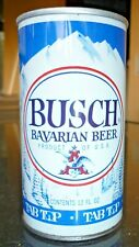 Collectable beer cans - Busch Bavarian Beer Tab Top Bank Slot 12 fl oz can (USA)