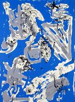 DDR-Kunst/Nachwendezeit. Grosser Siebdruck Volker MEHNER (*1953 D), handsigniert