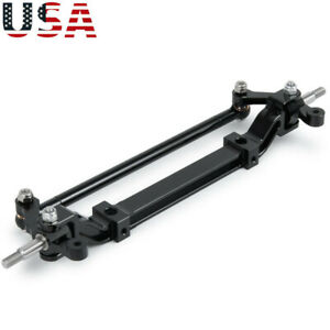 Alloy Front End Steering Axle Upright Black for Tamiya RC 1:14 Tractor Truck US