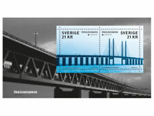 SWEDEN 2018 CEPT BRIDGES MINI SHEET