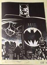 SIGNED Batman The Dark Knight Returns Frank Miller Art Gallery / Artist Edition
