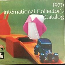 Vintage 70s Hot Wheels International Collector's Catalog