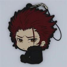 Anime K Project KK Suoh Mikoto Charm PVC Figure Strap Cell Phone Key Chain