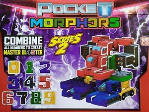 EMCO POCKET MORPHERS SERIES 2 COMBINE ALL NUMBERS TO CREATE MASTER BLASTER 0-9