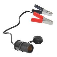 Zigarettenanzünder-Steckdose mit Batterieklemmen 12V/24V-16A