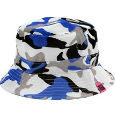 $40 Married To The Mob Worst Enemy Bucket Hat white blue