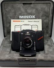 MINOX 35 GTE c/w MC MINOXAR 35mm f2.8 LENS - FULL FRAME 35mm FILM COMPACT - MINT