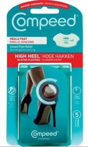 Compeed Heel Blister Plasters 5`s -  Buy 1, 2,Or 3 Packs