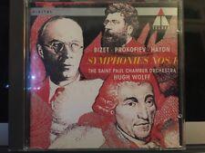 St Paul Co,St Paul Co,Wolff : Bizet/Prokofiev/Haydn;Sym.1 CD (1993)
