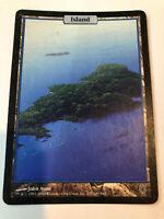 Island Unhinged Full Art Extended Mtg Magic the Gathering John Avon 137/140