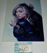 Signed Debbie Harry Photo Music Blondie Ticket Rock Pop Punk Hip Hop lp cd 45 ep