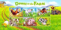 Australia-Down on the Farm Min sheet mnh 2005