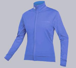 "Endura Cycling Women's Xtract Roubaix Softshell Jersey Size (S) 34-35"" Blue"