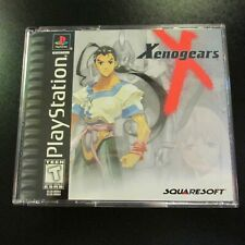Xenogears PS1 PlayStation 1 2 3 4 Black Label NEW COMPLETE MINT