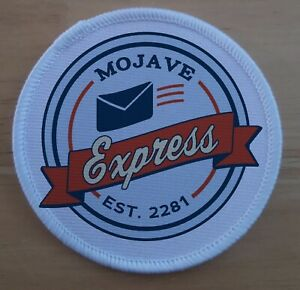 """3"""" Mojave Express Fallout Sublimation Patch badge"""