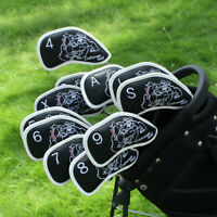 For PXG Mizuno Taylormade Ping Craftsman Leather Golf Club Iron Cover Headcovers