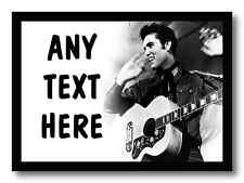 Elvis Presley Personalised Computer Mouse Mat