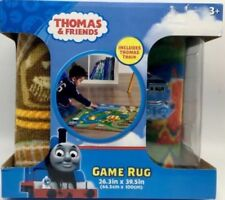 """Thomas & Friends Game Rug 26.3"""" x 39.5"""" with Thomas Train Toy New"""