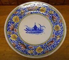 Italian ? Art Pottery Faience Charger