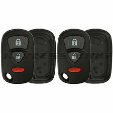 2 New Replacement Keyless Entry Remote Car Key Fob Case Shell Pad for KBRTS005