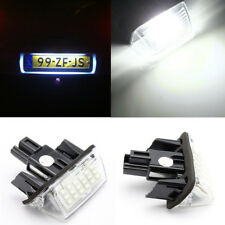 Car LED License Plate Light Number Lamp For Toyota Camry Yaris Corolla Fielder