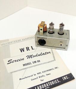 RARE   VINTAGE  WRL   MODEL   SM-90   SCREEN   MODULATOR