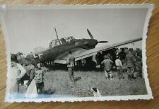 Altes Foto Ju 87 STUKA / 2. WK
