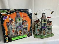 Lemax Spooky Town LITTLE MONSTERS SCHOOL HOUSE 05017 RARE!  Retired. 2014