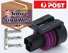 Pressure Sensor 3 Pin Connector Plug Ti Honeywell Haltech Vipec/Link Microtech