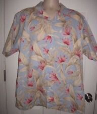 Nautica Men's Multicolored Tropical Print Short Sleeved Shirt Size XL