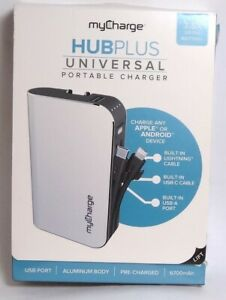 myCharge - HubPlus 6700 mAh Portable Charger for iphone 12/11/XR/X/8/7 +USB-C
