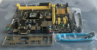 ASUS Motherboard H81M-A mATX Supports LGA 1150 Intel Core CPU 4th Gen I3, I5, I7