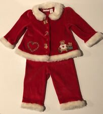 First Impressions Toddler Christmas/Holiday 2 Piece Garment Outfit Size 12M NWT