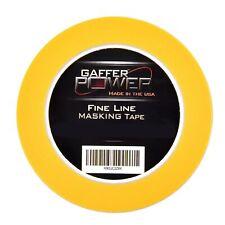 Gaffer Power Premium Automotive Pinstriping Masking Tape 18 In X 60 Yds