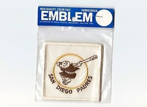 """Vintage Early 1970s MLB San Diego Padres 3"""" Patch Sealed in Original Packaging"""