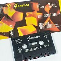 GENESIS ORIGINAL 1983 CASSETTE TAPE ALBUM PROG ROCK POP VIRGIN CHROME GENMC1