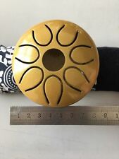 "WuYou  3"" 8cm Steel Tongue Drum / handpan, 7 notes GOLD, Small drum Big Sound!!"