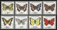 Allemagne 1991 neuf sans charnière-Endangered Butterflies Colias Apatura Papilio Limenitis
