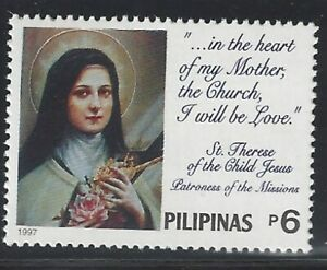 Philippines #2489 MNH CV$4.00 St Therese of Lisieux