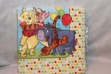 NEW WINNIE THE POOH DISNEY 16 DESSERT POOH AND PALS NAPKINS  PARTY SUPPLIES