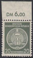 DDR Dienstmarken Nr. 32 y II XI ** Befund VP